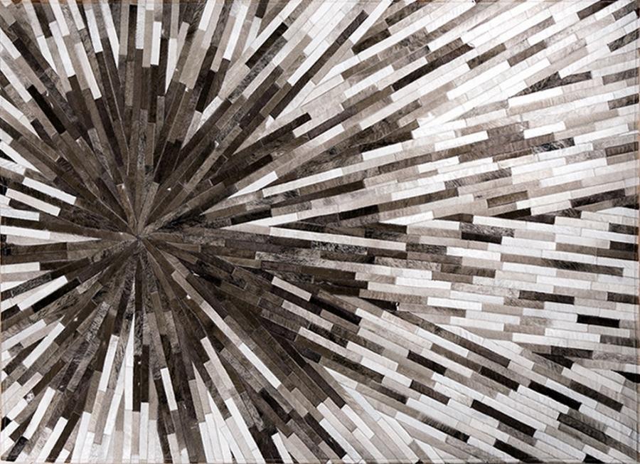 Kožni tepih Intersteller Grey