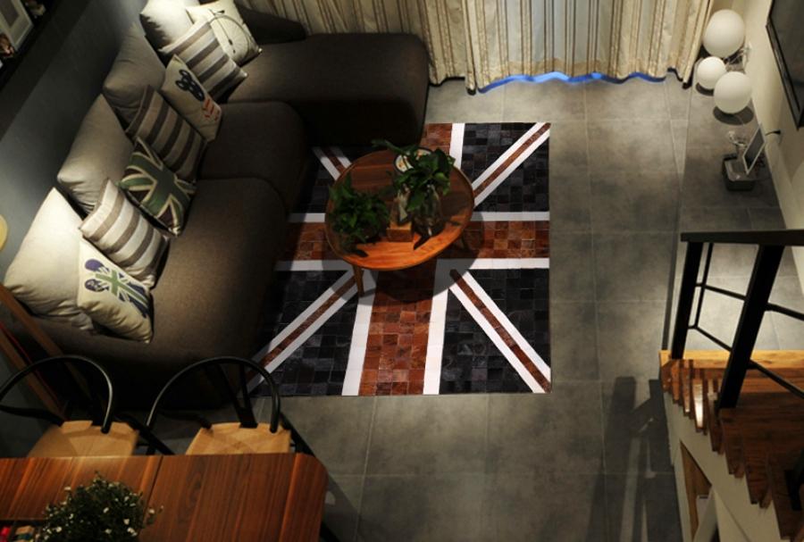 Kožni tepih Vintage Union Jack