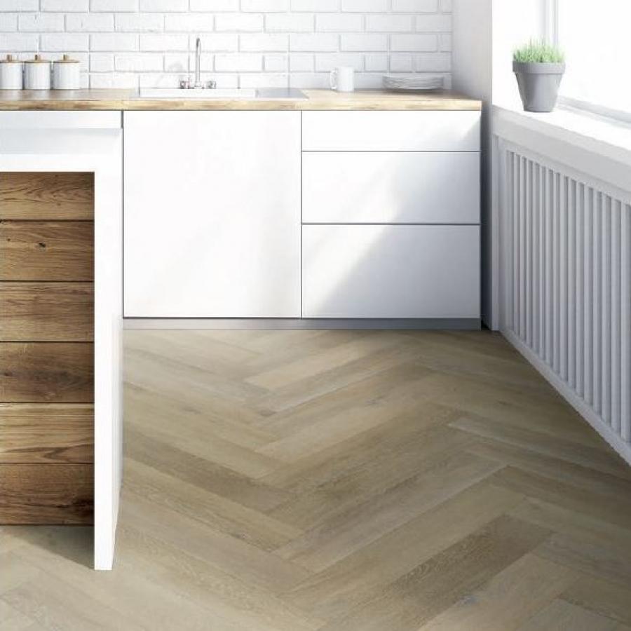 Kitchen Herringbone Iconic Oak Bolsena