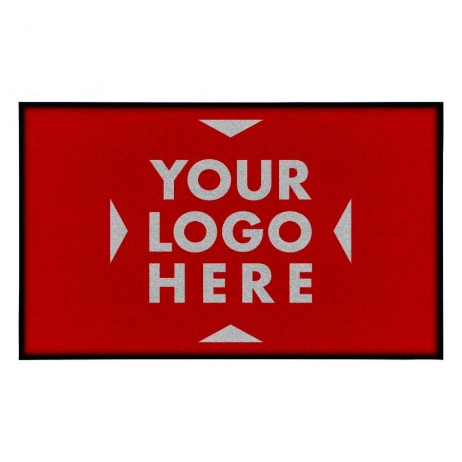 Logo otirač sa oivičenjem