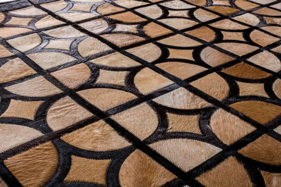 Kožni tepih Oracle Sand